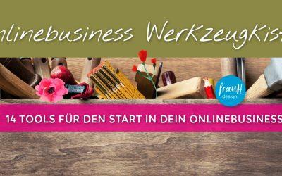 14 Tools für den erfolgreichen Start in dein Onlinebusiness